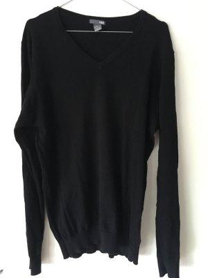 V-Auschnitt Pullover Basic