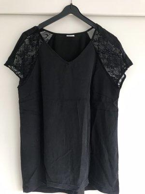 V-Ausschnitt-Bluse