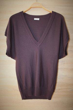 Avanti Gilet tricoté violet foncé viscose