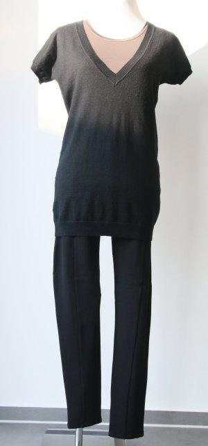 V-Ausschnitt Pullover von Hallhuber in Schwarz Größe S