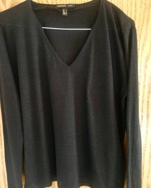 V-Ausschnitt Suit Pullover leicht