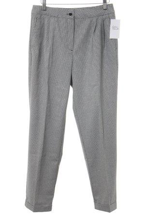 V by Very Pantalon à pinces noir-blanc motif pied-de-poule style d'affaires