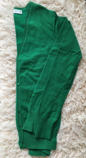 Zara Top verde bosque