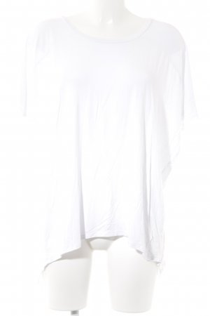 V Milano Oversized Bluse weiß Casual-Look