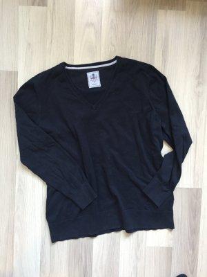 V-Neck Pullover dunkelblau