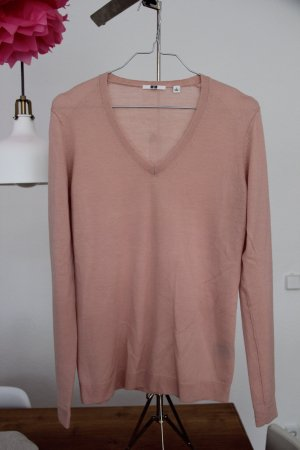 V neck Sweater - Pullover - Uniqlo - reine Wolle - Gr. S
