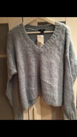 V-Pullover aus Alpaka Wolle NEU mit Etikett