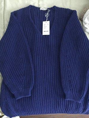 V-Pullover aus Baumwollstrick Closed  aktuelle Kollektion Frühjahr Sommer 2019 - Größe m - fällt größer aus