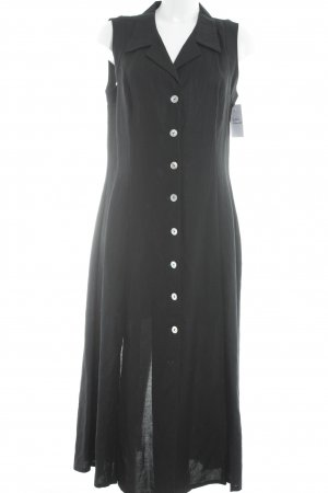 Va bene Blusenkleid schwarz klassischer Stil