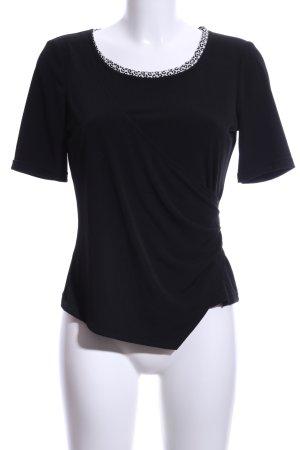 Va bene Wraparound Shirt black casual look