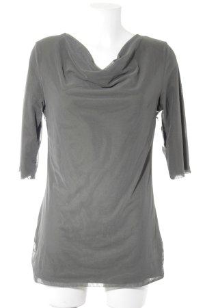 VA Milano Netzshirt khaki Casual-Look