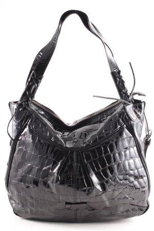 VA Milano Shopper noir style cuir