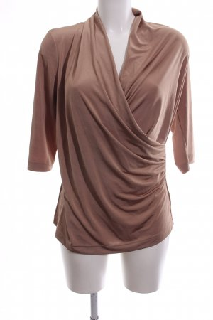 VA Milano Wraparound Shirt nude casual look