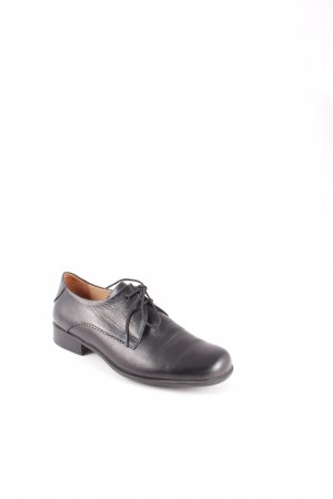 Vabeene Zapatos brogue negro estilo «business»