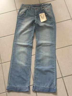 Vacuum Jeans mit Schlag