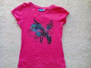 vacuum T-Shirt *geflügeltes Reh* in M