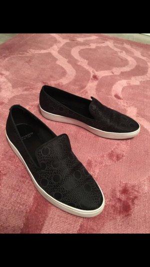 Vagabond, 37, Schuhe, Slipper, schwarz, Sportschuh, Punkte