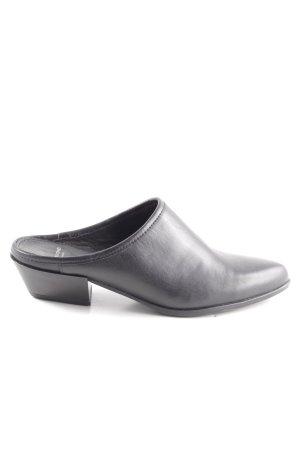 Vagabond Heel Pantolettes black simple style