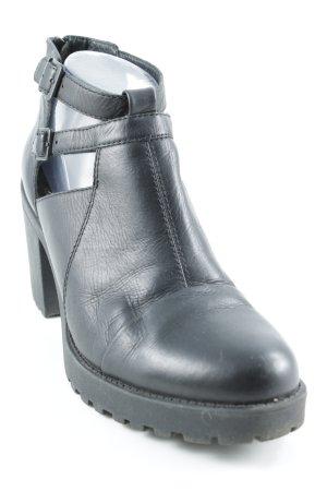 Vagabond Ankle Boots schwarz Punk-Look