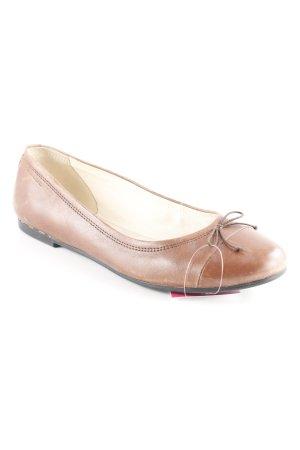 Vagabond Ballerinas mit Spitze braun Business-Look