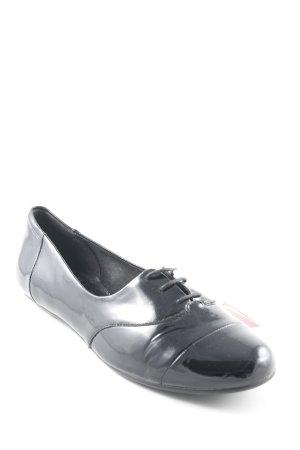 Vagabond Zapatos Budapest negro estilo «business»