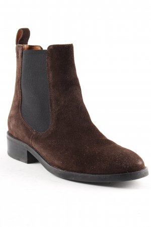 Vagabond Chelsea Boots dunkelbraun-schwarz Casual-Look