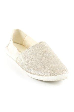 Vagabond Espadrille Sandals gold-colored-oatmeal beach look