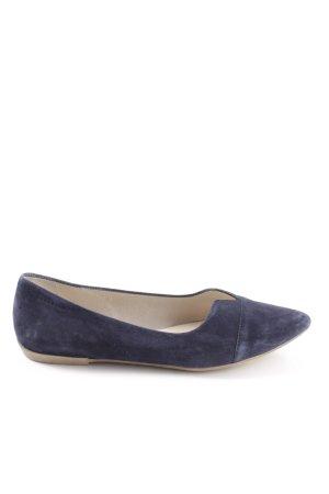 Vagabond faltbare Ballerinas blau Business-Look