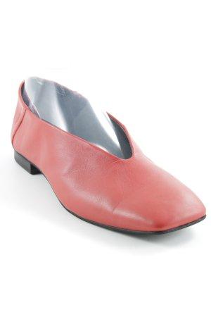 Vagabond faltbare Ballerinas rot Casual-Look