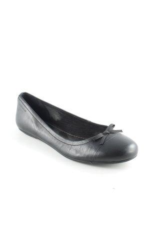 Vagabond faltbare Ballerinas schwarz schlichter Stil