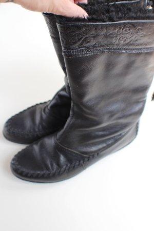 VAGABOND, gefütterte Mokassin-Stiefel