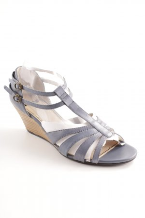 Vagabond High Heel Sandal steel blue casual look