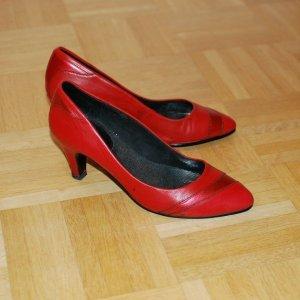 VAGABOND, hochackig Damen Party Halbschuhe, Rot, Grösse: 36
