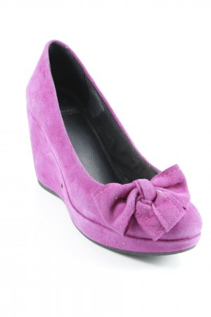 Vagabond Keil-Pumps violett Casual-Look