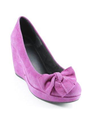 Vagabond Keil-Pumps violett Casual-Look