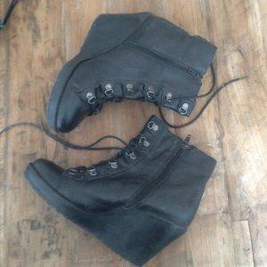 Vagabond keilabsatz leder 38 boots stiefelette ankle