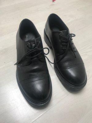 Vagabond Oxfords black leather