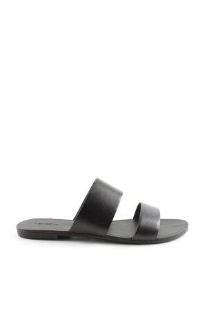 Vagabond Komfort-Sandalen schwarz schlichter Stil