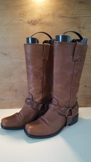 Vagabond Leder Boots, Biker Boots