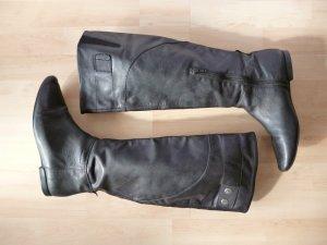 Vagabond Lederstiefel in schwarz, Gr. 39