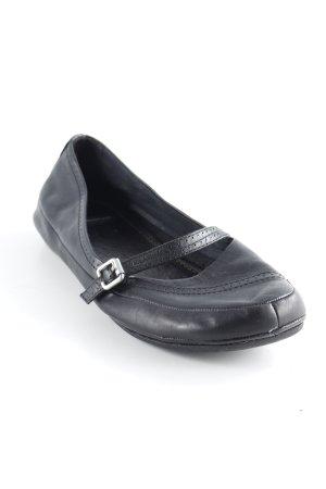 Vagabond Mary Jane Schoenen zwart simpele stijl