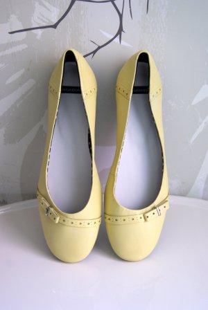 Vagabond Ballerines jaune primevère cuir