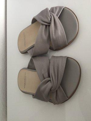 Vagabond Mules light grey