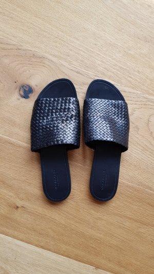 Vagabond Pantoletten Mules 38 schwarz Leder