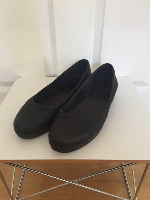 Vagabond Ballerines pliables noir cuir