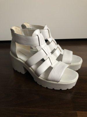 Vagabond Platform High-Heeled Sandal white