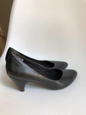 Vagabond Pumps High Heels schwarz Leder 39