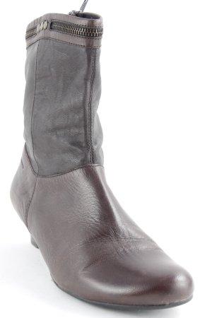 Vagabond Reißverschluss-Stiefeletten braun Casual-Look