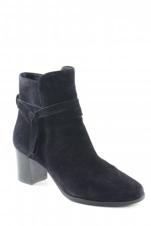 Vagabond Reißverschluss-Stiefeletten dunkelblau Business-Look