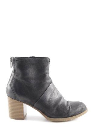 Vagabond Reißverschluss-Stiefeletten schwarz-braun Casual-Look